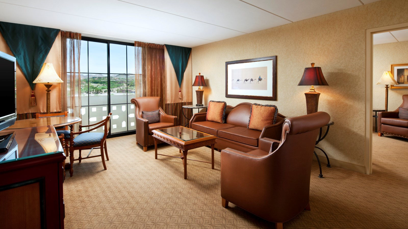 lake las vegas hotels - luxury king suite