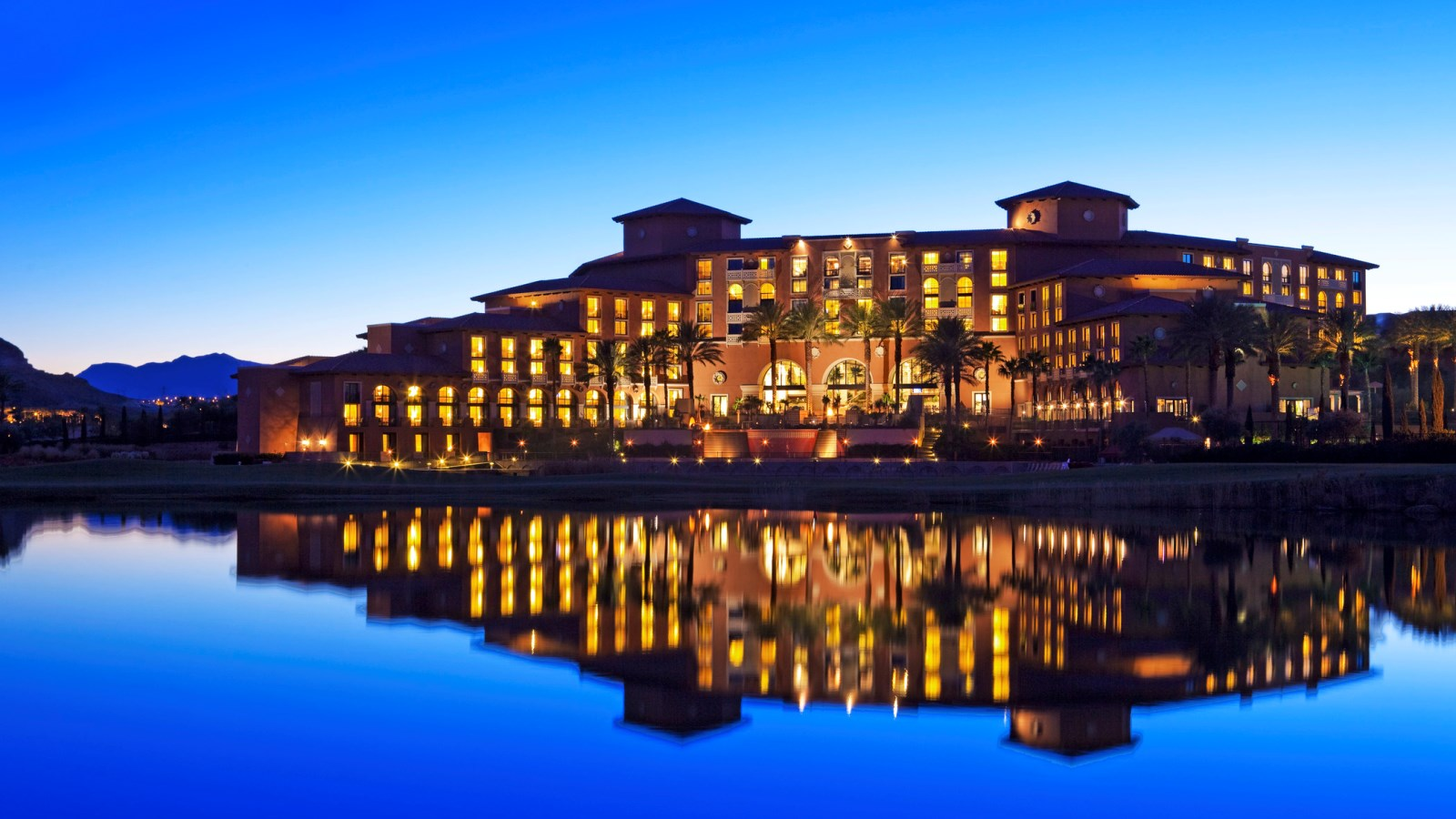 Lake Las Vegas Wedding Venues - Sunset