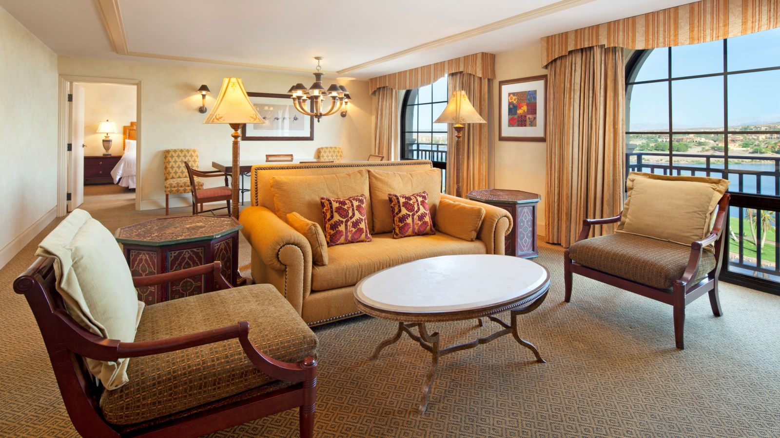 lake las vegas hotels - grand king suite