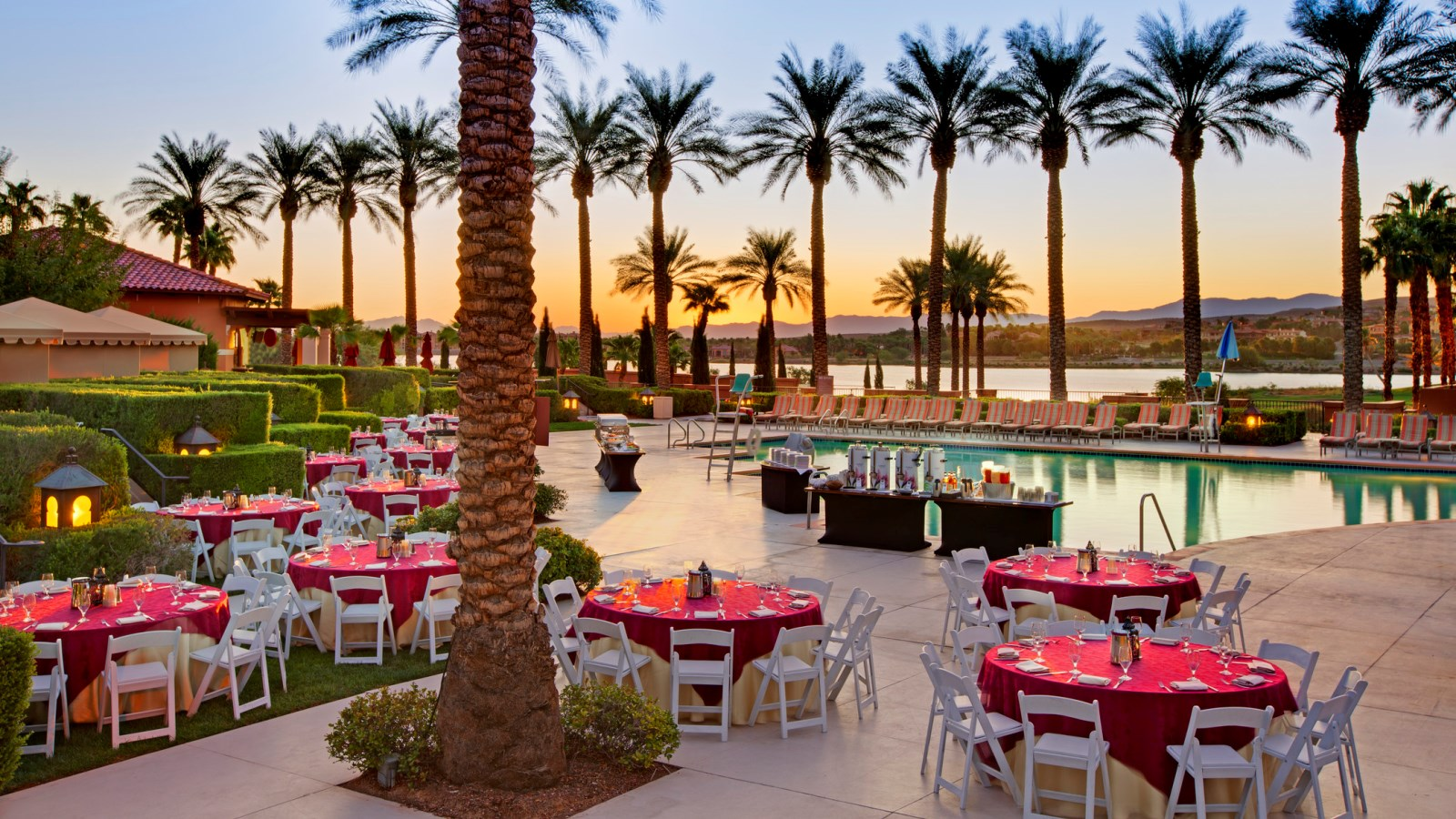 Lake Las Vegas Wedding Venues - Reception