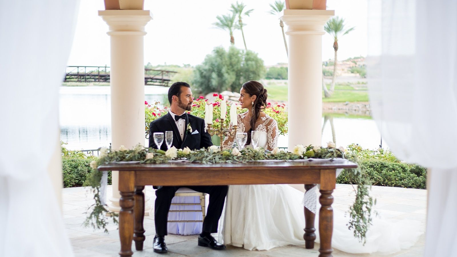 Wedding Venues Lake Las Vegas - Andalusian Gardens