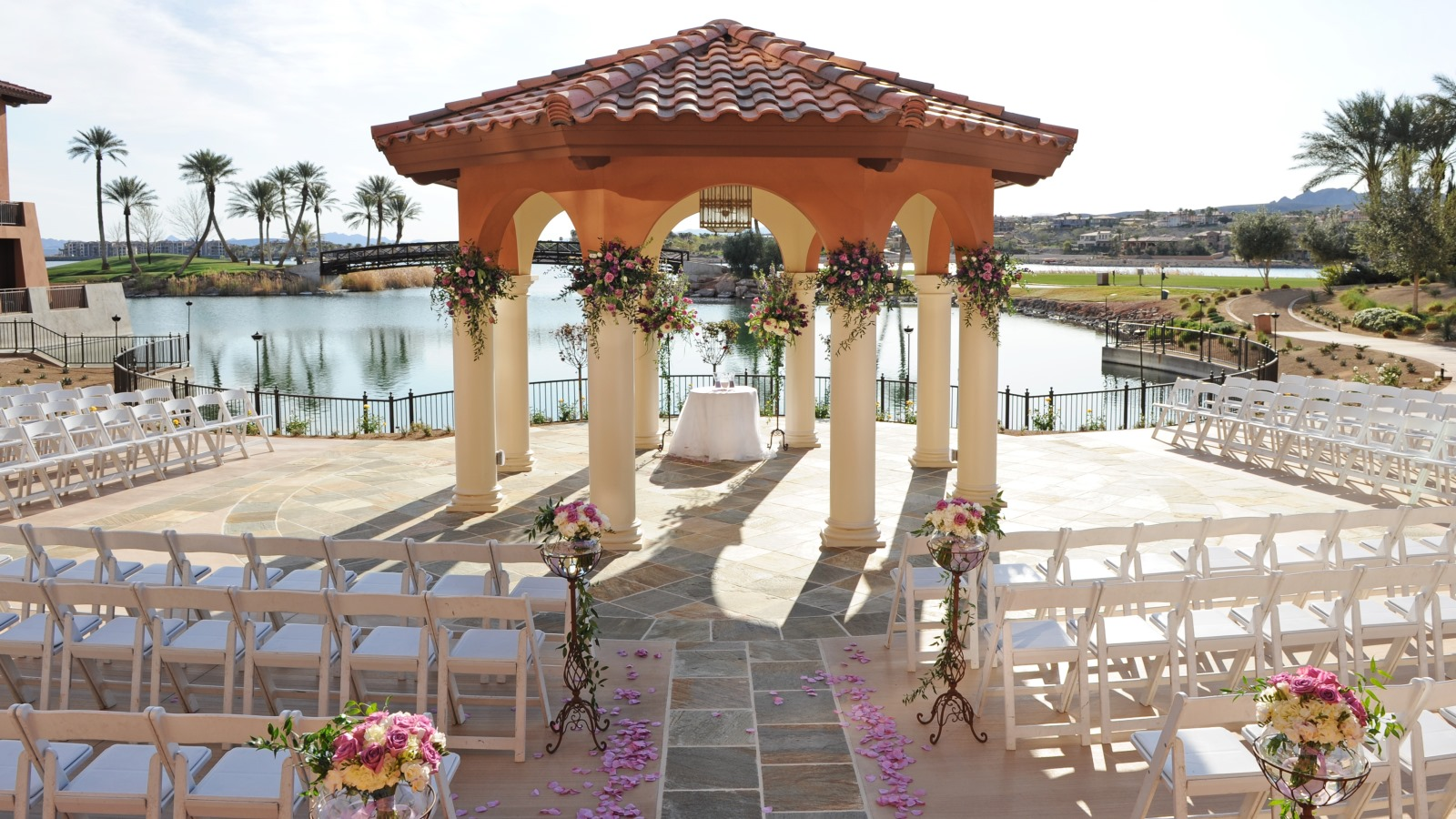 Lake las vegas weddings the westin lake las vegas resort for Las vegas mansion wedding venues