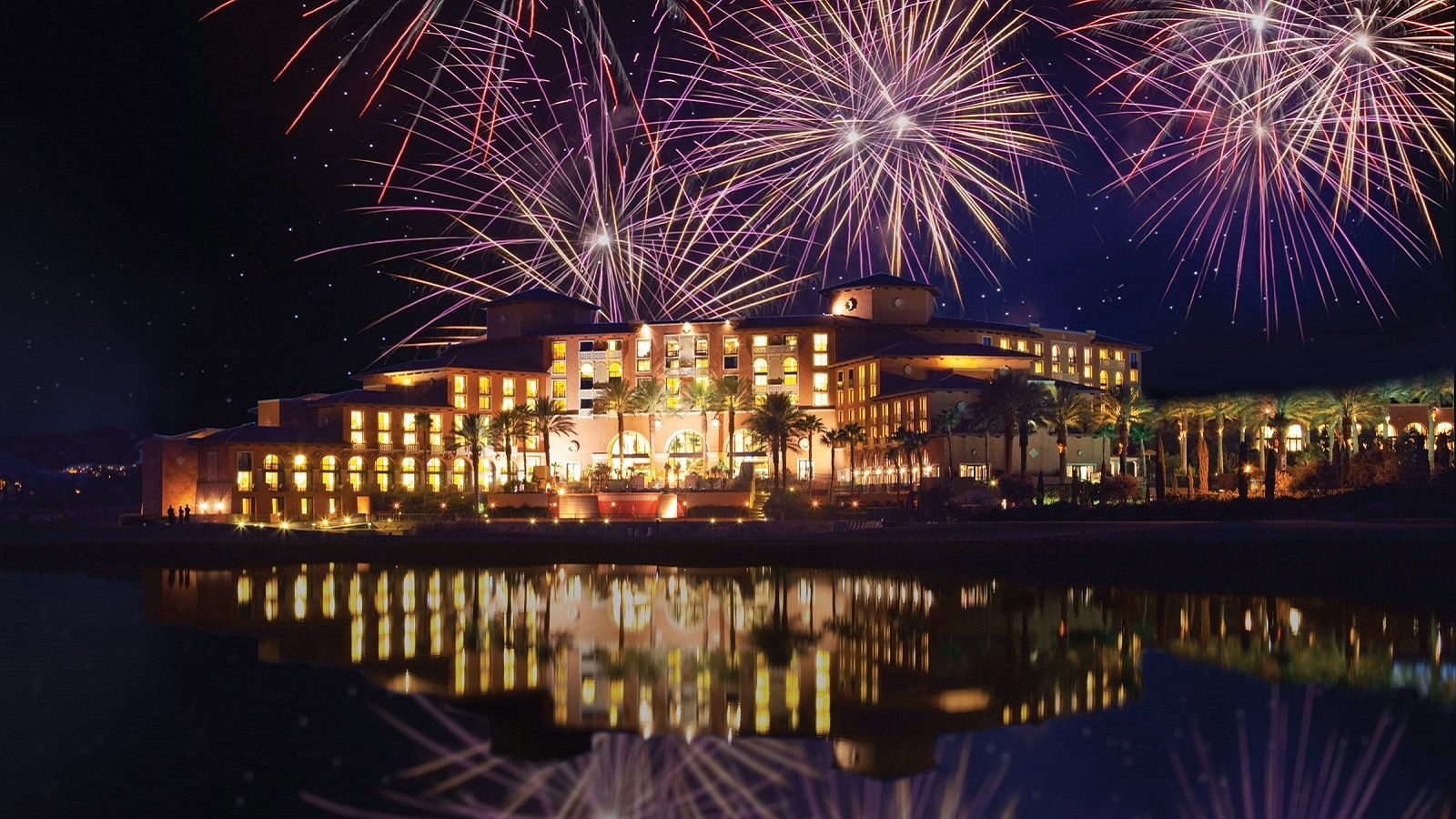 Lake Las Vegas Wedding Venues - Fireworks