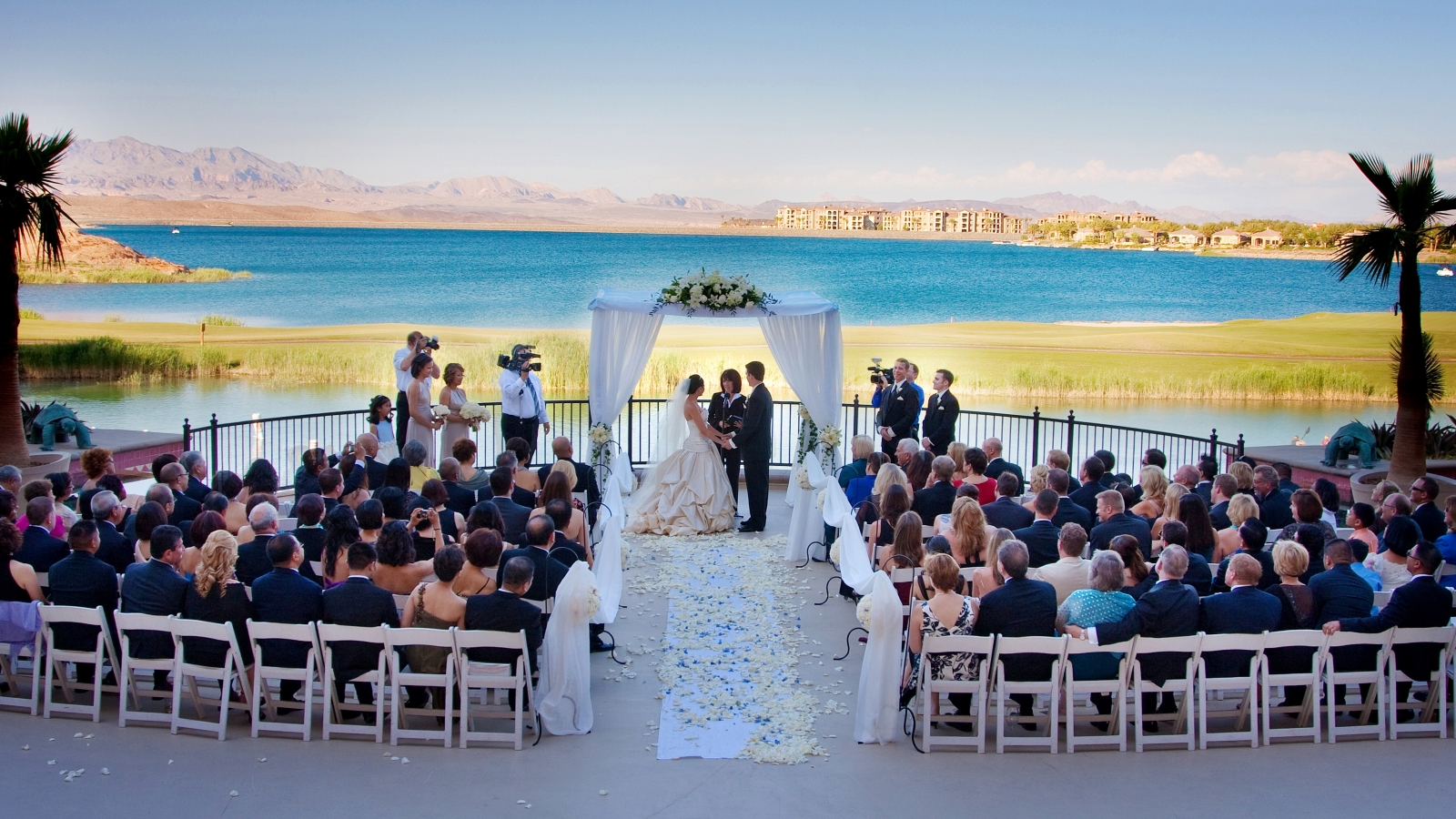 Lake Las Vegas Wedding Venues - Lotus Court